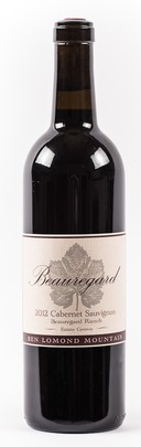 2012 Cabernet Sauvignon Beauregard Ranch