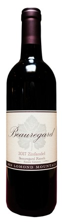 2017 Zinfandel Beauregard Ranch