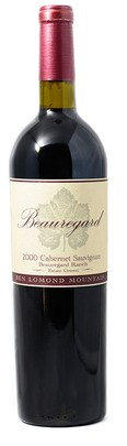 2000 Cabernet Sauvignon Beauregard Ranch