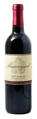 2010 Zinfandel  Beauregard Ranch